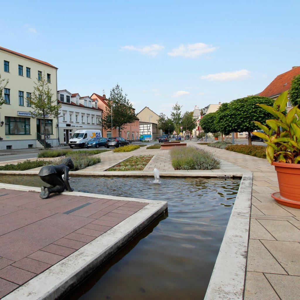Trebbin Marktplatz